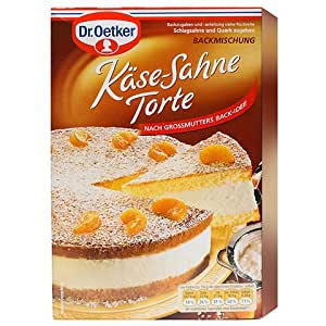 1 x dr oetker baking mix kase sahne torte. Black Bedroom Furniture Sets. Home Design Ideas