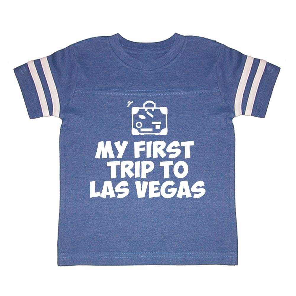 My First Trip to Las Vegas Toddler//Kids Sporty T-Shirt