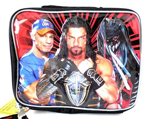 WWE World Wrestling Entertainment Lunch Kit Bag Box Lunchbag Lunchbox by WWE