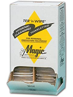 Magid Glove & Safety ST100DN Products Alcohol Free Respirator and PPE Cleaning Wipes ST100D (Pack