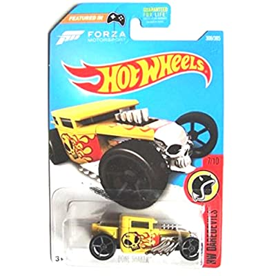 Hot Wheels 2020 HW Daredevils Forza Motorsport Bone Shaker 306/365, Yellow: Toys & Games