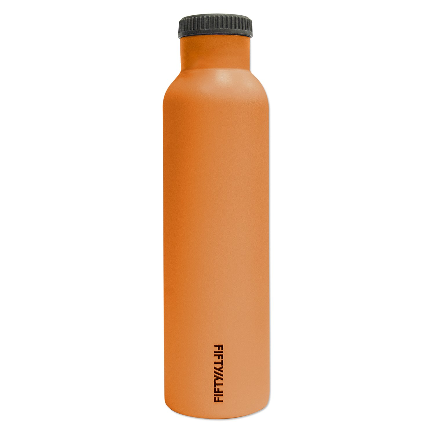 Fifty/Fifty Orange Vacuum-Insulated Stainless Steel