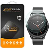 [2-Pack] Supershieldz for Ticwatch 2 Tempered Glass Screen Protector, Anti-Scratch, Anti-Fingerprint, Bubble Free, Lifetime Replacement Warranty