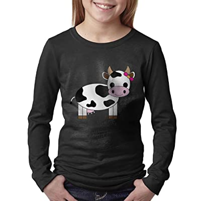 08&FD0 Cow Youth Long Sleeve Shirts