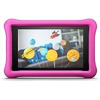 Amazon - Custodia per bambini per Fire HD 8 (tablet 8'', 7ᵃ e 8ᵃ generazione, modelli 2017 e 2018), Rosa