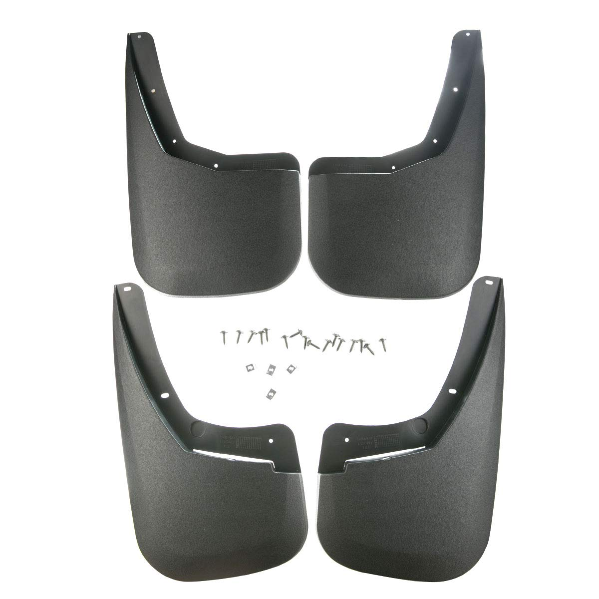 A-Premium Splash Guards Mud Flaps Mudflaps for Chevrolet Silverado 1500 2500 HD 3500 HD 2007-2013 Single Rear Wheels only 4-PC Set PremiumpartsWhosale