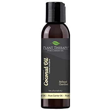 Amazon Com Plant Therapy Coconut Fractionated Carrier Oil A Base Oil For Aromatherapy Essential Oil Or Massage Use 4 Oz Beauty