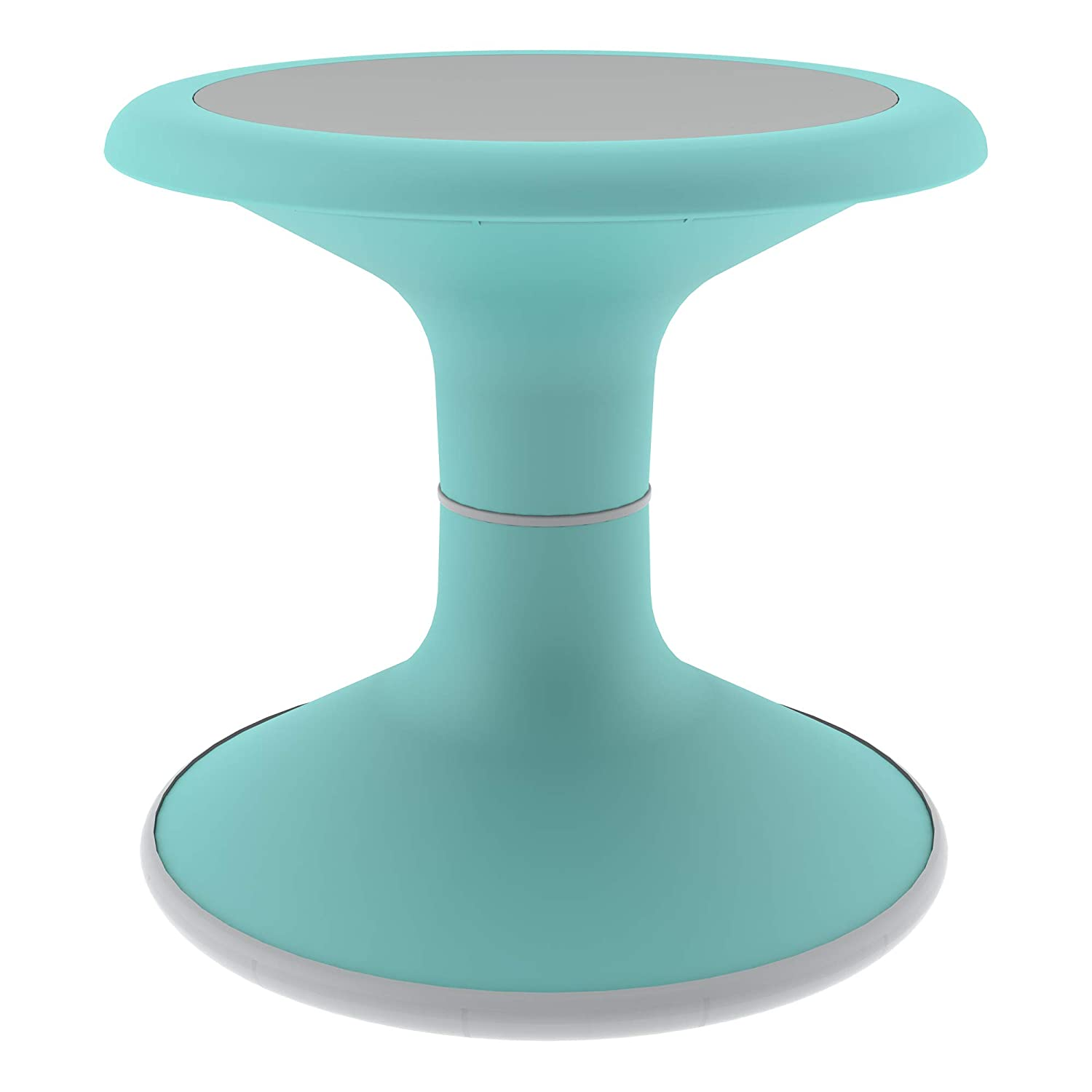 """Sprogs Kids Active Motion Stool - Flexible Seating for School Classroom, Office or Home - 12"""" Seat Height - Turquoise (SPG-NUS3000-TR-SO)"""