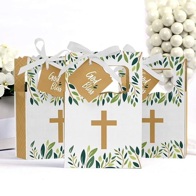 Amazon.com: Elegante cruz – Cajas de fiesta religiosa ...