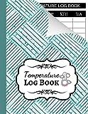 Temperature Log Book: Sheets Regulating / Medical