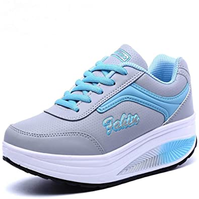 Amazon.com | clcour Women Sneakers Platform Frauen Turnschuhe Womens Casual Shoes Ladies Basket Femme Wedges Trainers Zapatillas Deportivas Mujer | Fashion ...