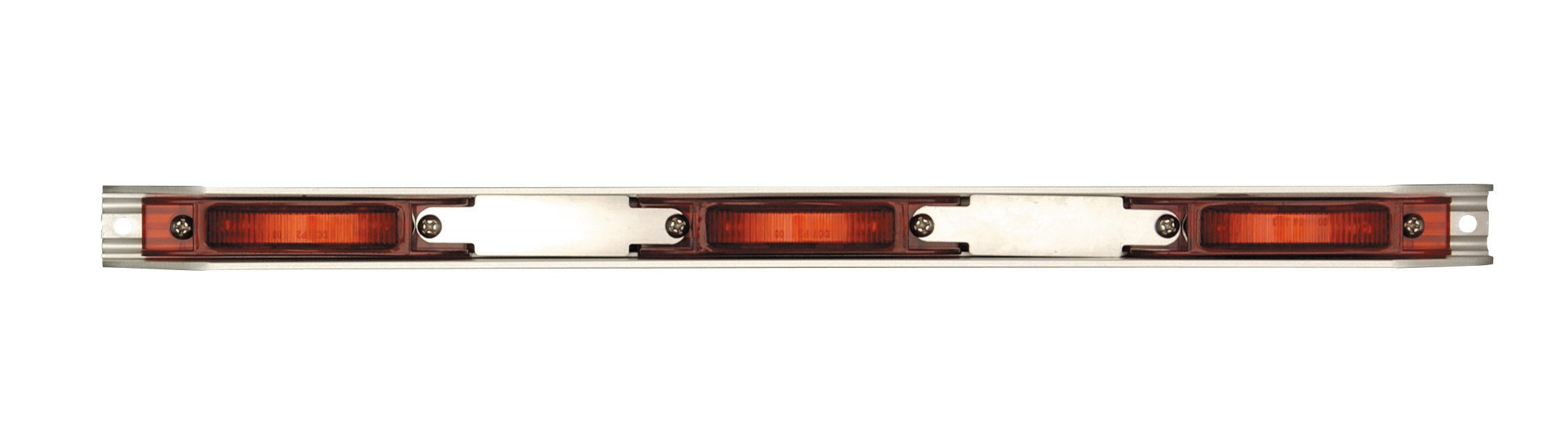 Maxxima M20343R 21 LED Red Stainless Steel Light ID Bar