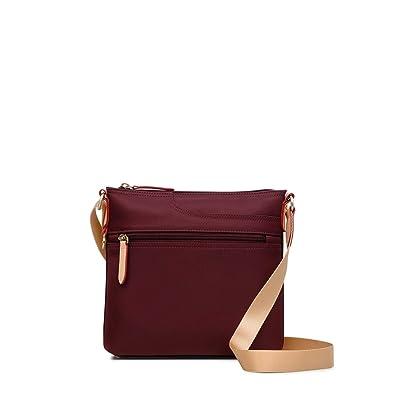 feb27cf220179 Radley Pocket Essentials Small Zip-Top Cross Body Bag (Port): Amazon ...