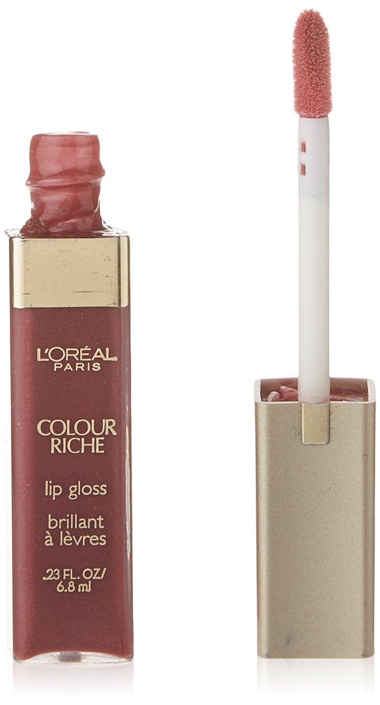L'Oréal Paris Colour Riche Lip Gloss, Rich Plum, 0.23 fl. oz.