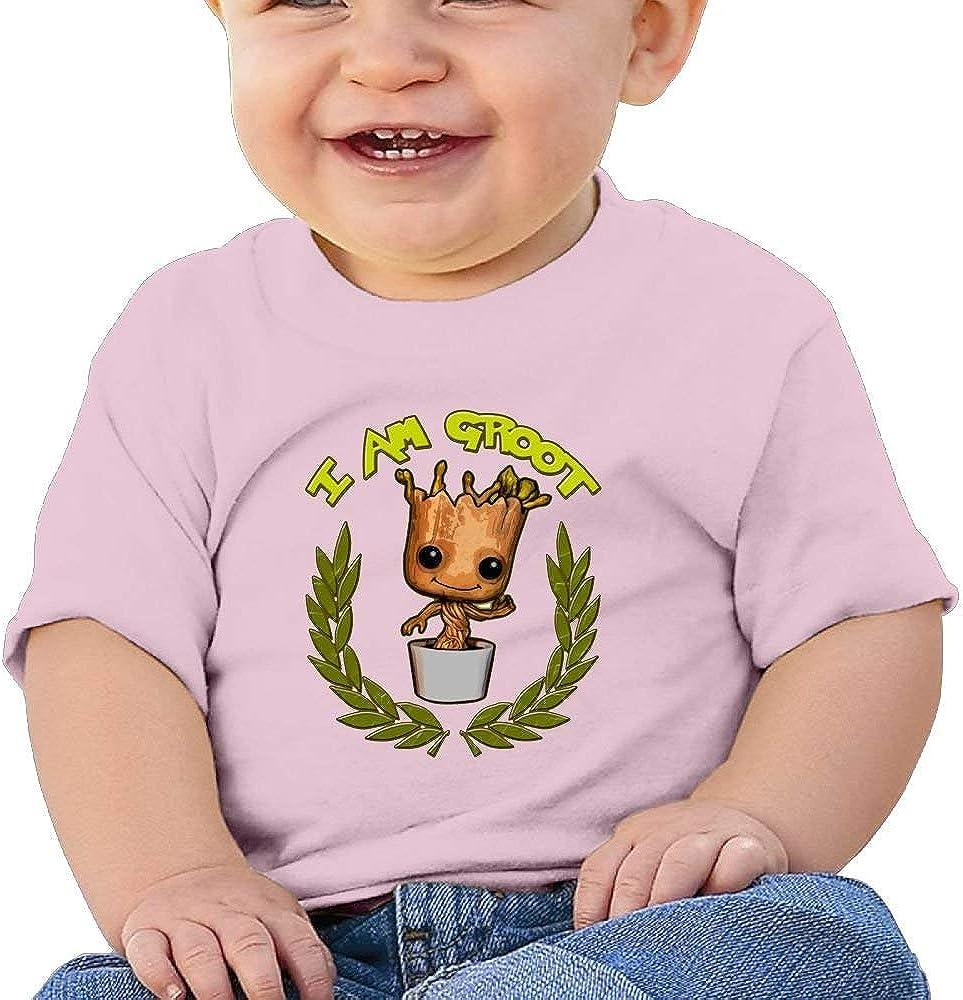 I Am Groot 11 Washed Cotton Baby Boy Shirt Cute Summer T Shirt Funny