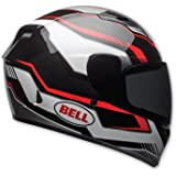 Bell Qualifier Unisex-Adult Full Face Street Helmet (Torque Black/Red, Large) (D.O.T.-Certified)