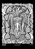 The Original DoodleArt by PlaSmart - Lady of Feathers, Adult Coloring 24