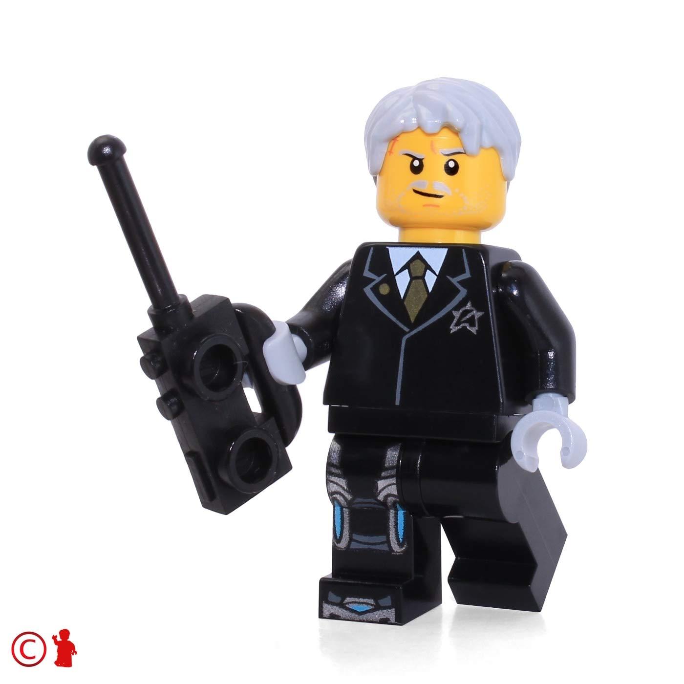 LEGO Ultra Agents Solomon Blaze Minifigure from Set 70170