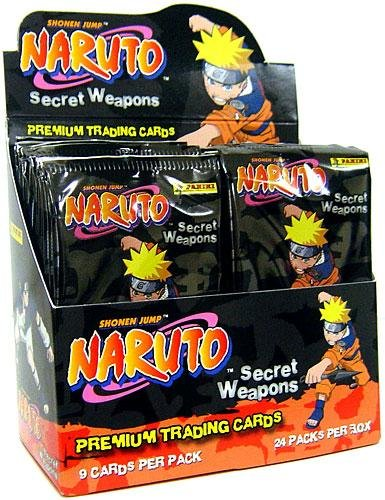 2007 Panini 's Naruto : Secret Weapons Premium Trading Cards Sealedボックス( 24パック/ボックス – 9カード/パック) B000THIGD2