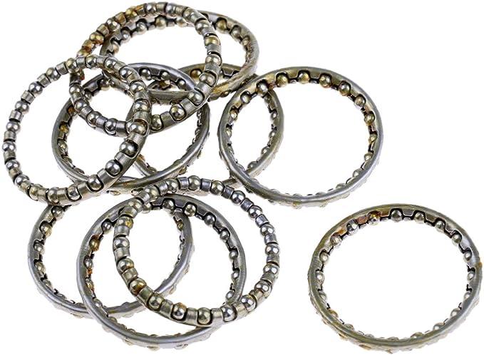 Kugelring für 1.1//8 Steuersatz Ø ca 22 Kugeln 2 x Kugellager Ring 09911