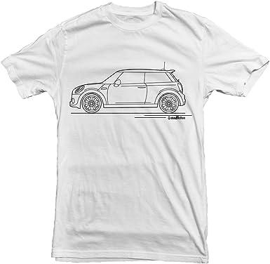Amazon Com Mini Cooper Car Outline Men S T Shirt White S M L Xl Xxl Clothing Tshirt outline illustrations & vectors. mini cooper car outline men s t shirt