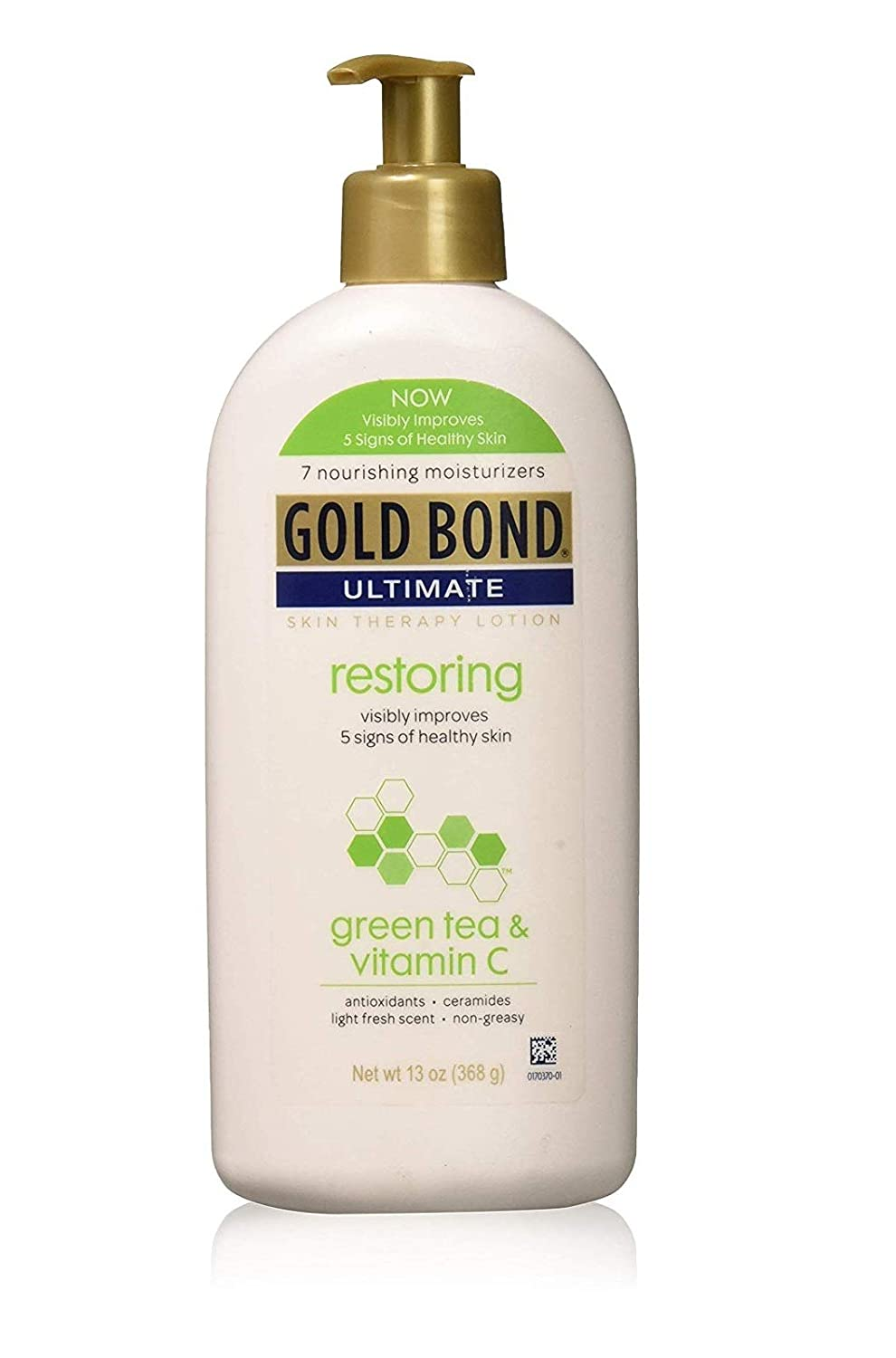Gold Bond Ultimate Restoring Lotion, with Vitamin C and Green Tea