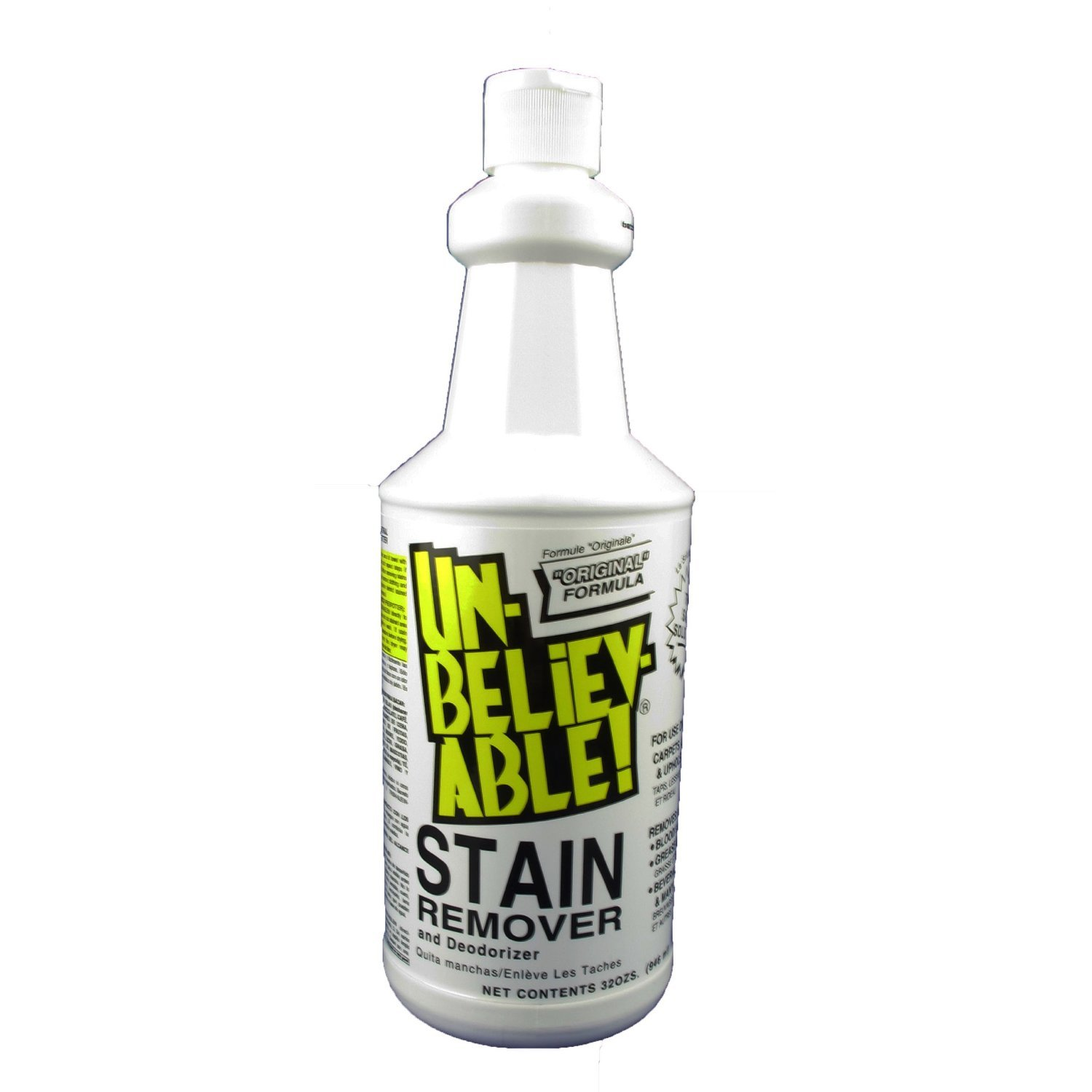 amazon com unbelievable stain remover and deodorizer 32 ozs