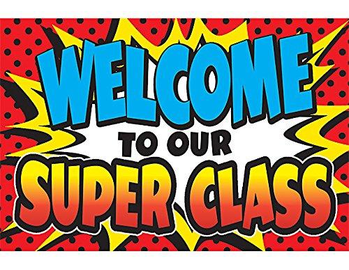 - Teacher Created Resources Superhero Welcome Postcards (5652)