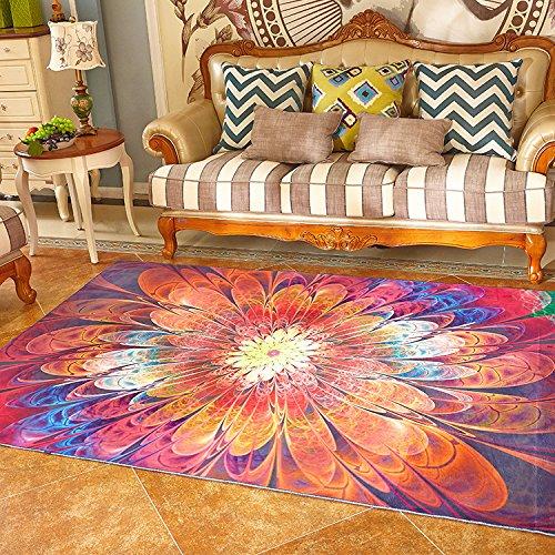 SU@DA Thickening Carpet Mat Kitchen Bathroom Anti-skid Living room Foot pad , picture , 80160cm by SU@DA