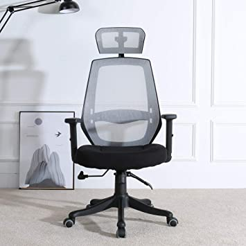 Stupendous Berlman Modern High Back Office Chair Executive Chair With Adjustable Armrest Headrest Home Office Chair Desk Chair Task Chair Computer Chair Swivel Inzonedesignstudio Interior Chair Design Inzonedesignstudiocom