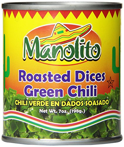 Mama Fresca Diced Roasted Green Chili, 7-Ounce (Pack of 24)