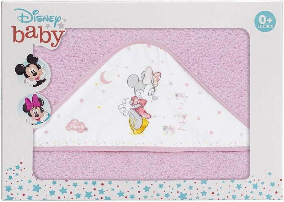 Capa de Ba/ño Disney Counting Sheep Minnie Rosa