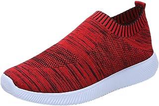NINGSANJIN Sneaker Sport Femmes en Plein Air Mesh Casual Chaussures De Sport Runing Respirant Chaussures Baskets 35-43