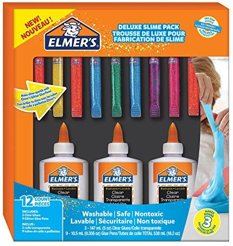 Ensemble de colle elmer 39 s glue deluxe stylos colle transparente pour cole et colle - Comment enlever de la colle glue ...