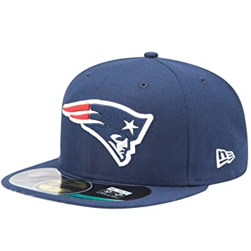 NEW ENGLAND PATRIOTS - NEW ERA BASECAP - 59FIFTY - AUTHENTIC ON FIELD -  GAME CAP