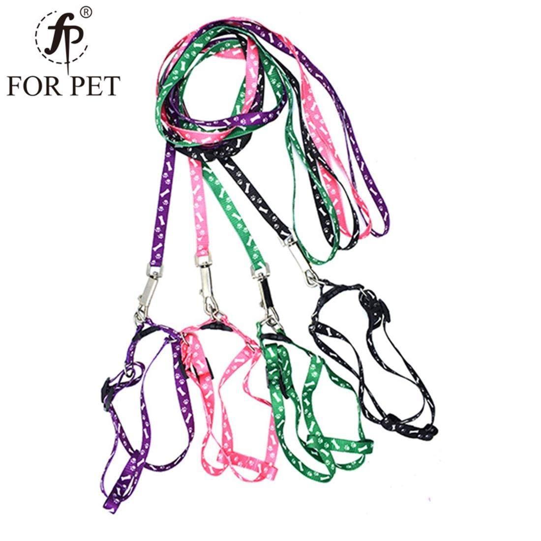 Random color 1.5120cm Random color 1.5120cm MISSKERVINFENDRIYUN 1.5cm Wide Printed Chest Back Traction Rope Dog Chest Back Traction Belt Cat Rope Pet Supplies (Random colors) (color   Random color, Size   1.5  120cm)