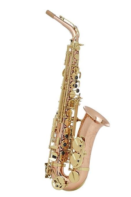 amazon com buffet crampon senzo red brass alto saxophone musical rh amazon com