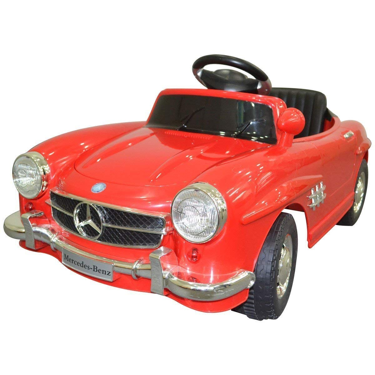 Toyshine Mercedes Vintage Battery Powered Ride-On Toy Remo