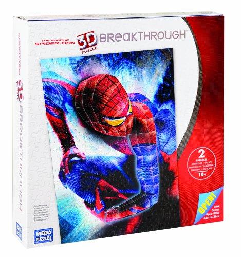 The Amazing Spider-man 3D Puzzle Breakthrough Level 2 by Mega Puzzles