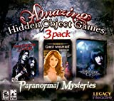 Amazing Hidden Object Games 3 Pack. Paranormal Mysteries, Immortal Lovers, Ghost Whisperer Forgotten Toys and Sinister City