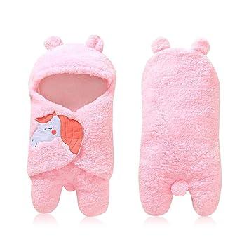 Womdee Manta de bebé recién Nacido para bebé, Manta de algodón para ...