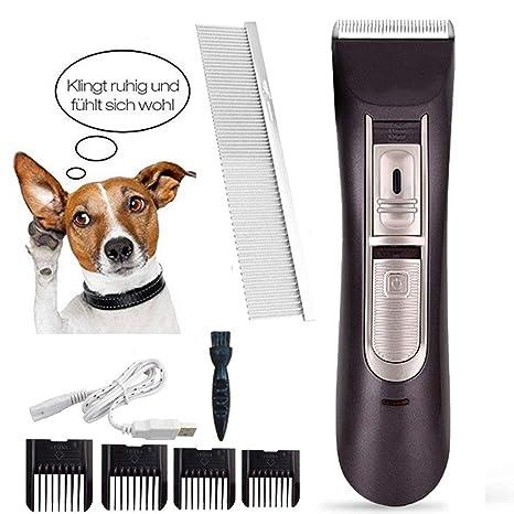 XH Shop Máquina de Afeitar para Mascotas Perro Profesional para Cortar el Pelo Peluquería para Mascotas