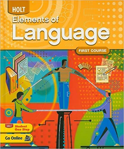 Amazon holt elements of language first course 9780030941931 holt elements of language first course 1st edition fandeluxe Choice Image
