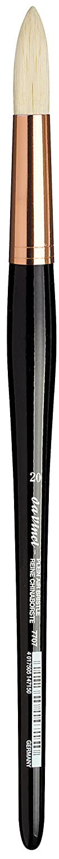 da Vinci Hog Bristle Series 7407 Plein Air Oil Painting Brush, Filbert Short with Black Lacquered Handle and Copper Ferrule, Size 4 da Vinci Brushes 7407-04