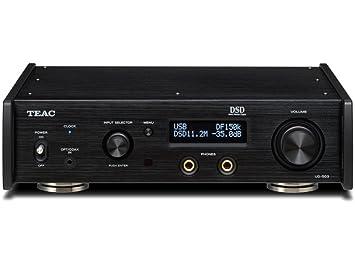 Teac UD-503-B - Amplificador Reproductor, Negro