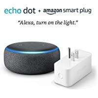 Amazon WiFi Smart Plug  + Echo Dot (3rd Gen)