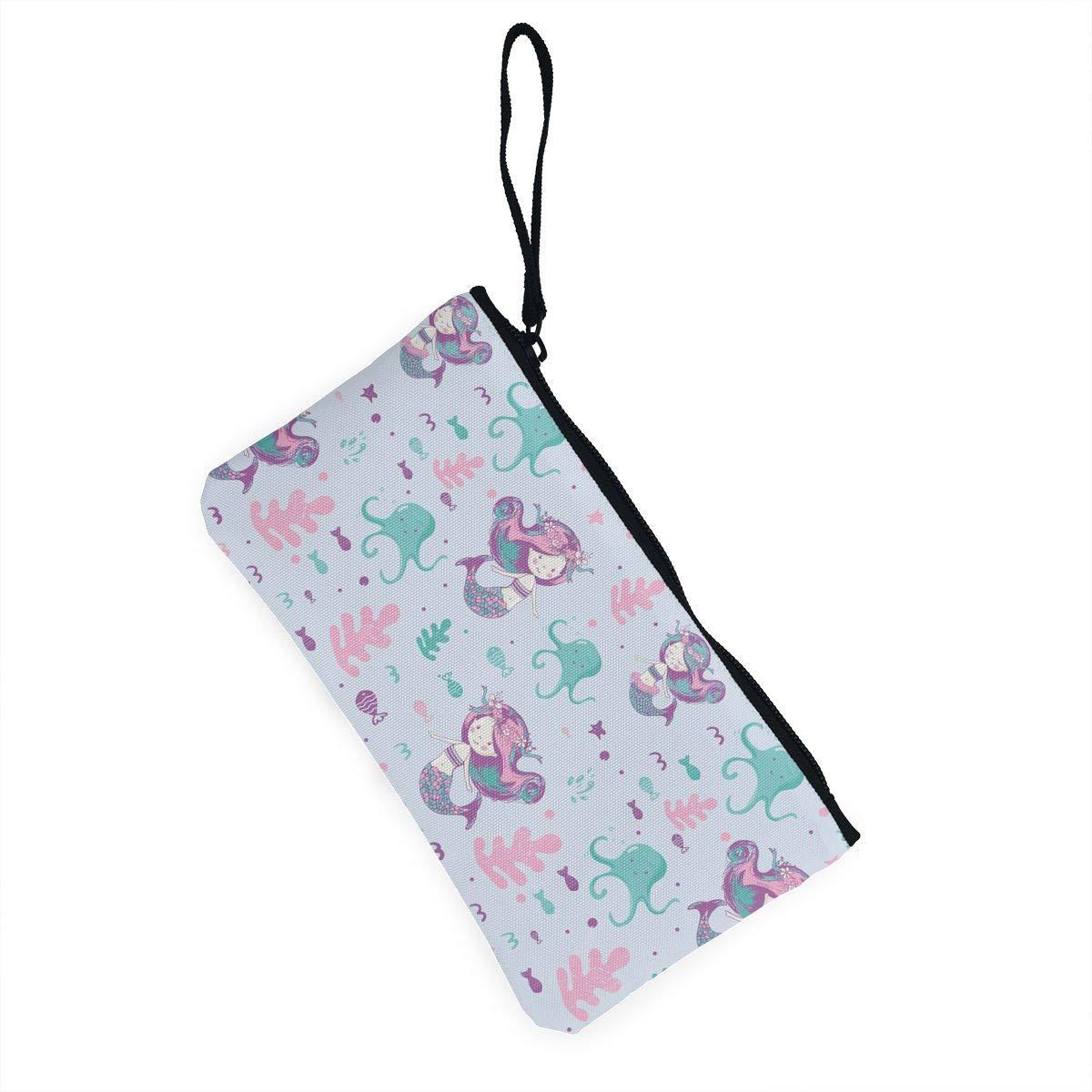 Amazon.com: Bonito bolso de lona para cambio de monedas, con ...