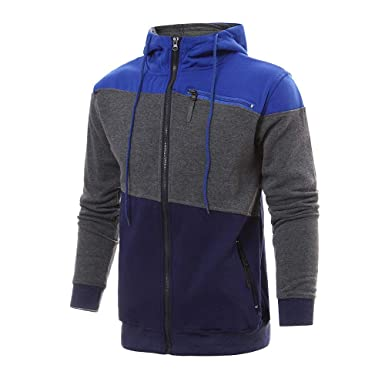 Lmtime Mens Casual Sweatshirt Autumn Winter Hoodies ...