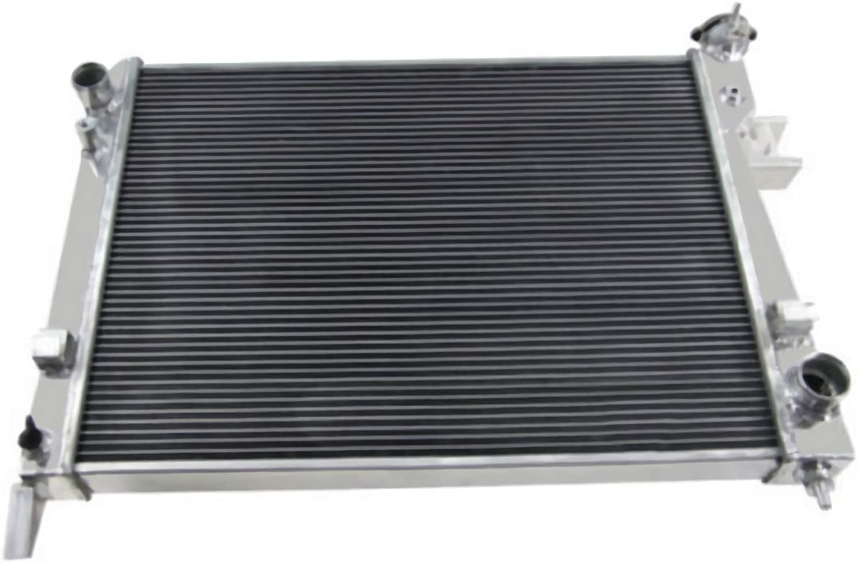 ALLOYWORKS Full Aluminum Radiator For 2002-2008 Dodge Ram 1500 2500 3500//1993-2002 Chevy Camaro 3.7L 3.8L 4.7L 5.7L 5.9L 8.0L 8.3L V6 V8 Engine