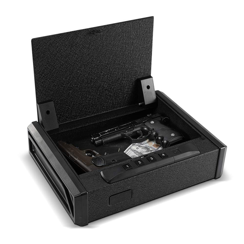 RPNB Gun Safe, Quick-Access Firearm Safety Device with RFID Lock, Home & Personal Safe Series by RPNB